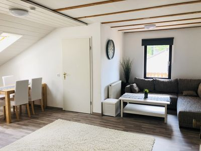 Photo for Cozy apartment with sun terrace