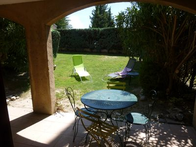 Photo for Holidays in an authentic Provencal village at the foot of Montmirail