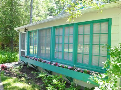 Photo for Newly remodeled cottage on beautiful Crystal Lake