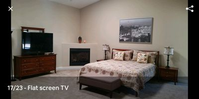 Photo for Guest house/ Fireplace / King Bed /Parking