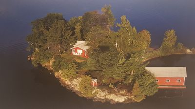 O'Connor Island in the St. Lawrence River