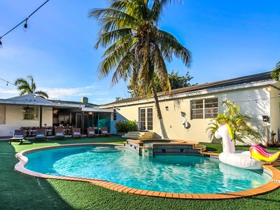 Photo for Sextant's Urban Oasis— Heated Pool & Hot Tub, 10 minutes to South Beach