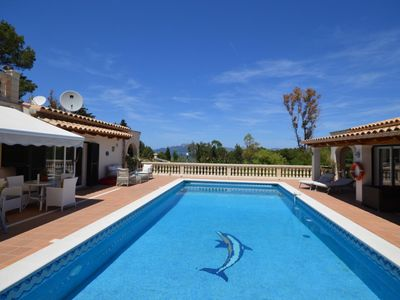 Photo for Luxury villa in Alcudia with sea view and swimming pool