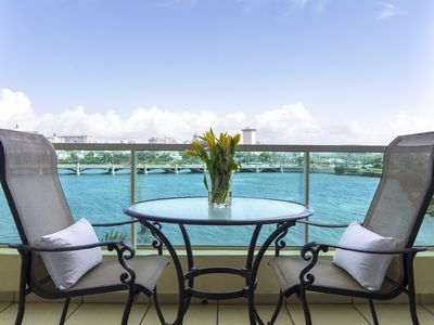 Photo for Condado Laguna Suite   Waterfront 1 Bedroom in Trendy San Juan Location