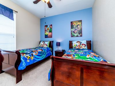 Photo for 3 bedroom Condo with Toy Story theme bedroom at desirable Windsor Hills Community