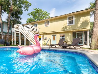 Photo for Large Tybee Cottage with Large Private Swimming Pool, Fenced in Yard, Pet Friendly