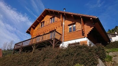 Photo for Large mountain chalet La Bresse 14 pers, sauna, wifi, near ski slopes, lakes