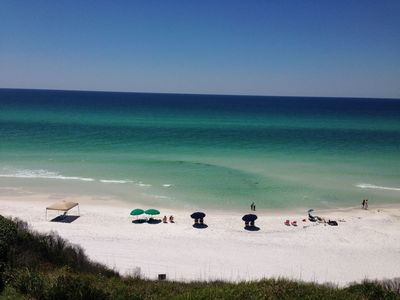 Photo for Amazing Gulf Front Views -  Ground Floor Condo - Blue Tide 1A
