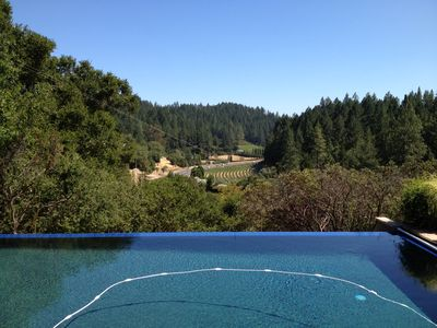 Photo for Fabulous Location, Heart of Wine Country, Private (gated), Views, Pool, hot tub