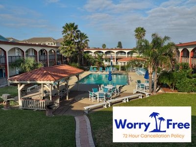 Photo for First floor, 2BR condo with a Heated Pool and just Steps off the Beach!