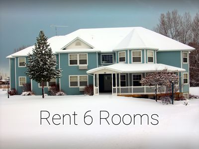 Photo for 6 rooms at the Inn at the Lake - Snowmobilers/Skiers Book Now