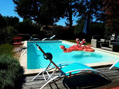 Photo for Villa with pool Andernos les Bains