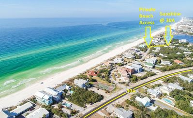 Photo for HOT TUB! South of 30A Without the Crowds! Steps to Beach - Private Pool + Bikes