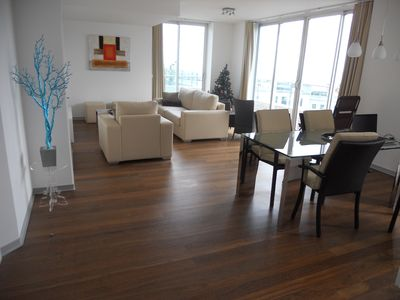 Photo for Penthouse with 100 m² terrace and view of the harbor in the center of Funchal
