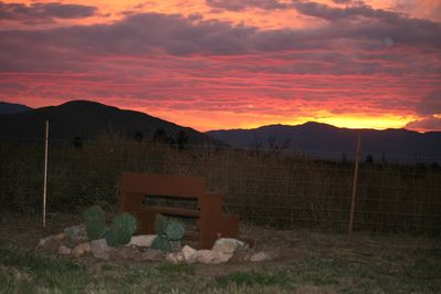 Taken from our Ranch. Sunsets and sunrises will capture your heart and soul.
