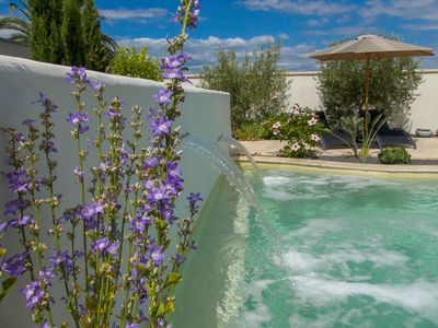 Photo for Magnificent gite, all services included, heated swimming pool