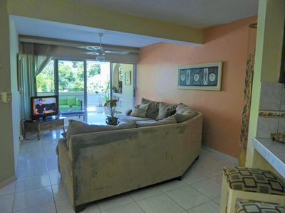 Photo for Sosua 1st Floor, 2 BR Condo 5 Minutes To Beach. Town