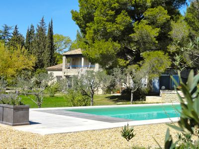 Photo for Provence - House in a big, wonderful park, directly by the river