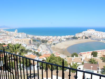 Photo for Apartment with large terrace and magnificent panoramic views of the sea