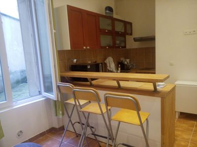 Photo for Nice apartment of 41m2 located in the Rue de l'Ourcq in the 19th arrondisse