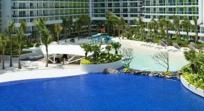 Pool View Wave Pool