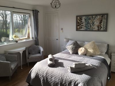 Photo for Woodland View Ellon double en-suite room with breakfast