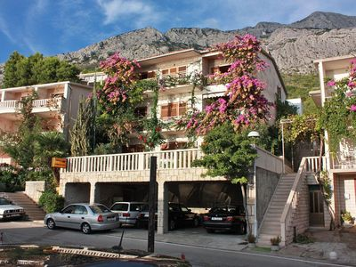 Photo for Apartment in Brela (Makarska), capacity 4+2
