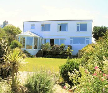 Photo for Crantock Cottage, stunning sea views, 5 mins to beach & equipped for children