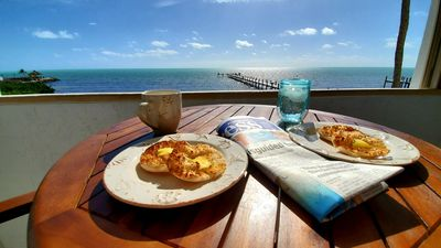 Photo for Oceanfront condo in Islamorada, amazing sunrise views, just renovated in 2019!