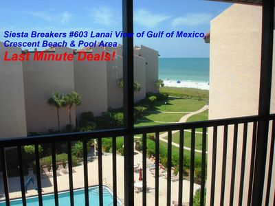 Photo for Sun, Sand & *Save* at Siesta Breakers #603 in Siesta Key, FL