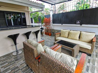 Photo for Villa W/jacuzzi - 4br - Close To Walking Street!