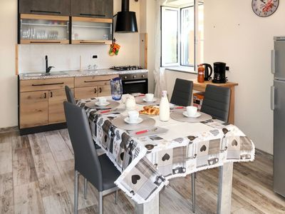 Photo for Lovely apartment for 4 people with TV, balcony, pets allowed and parking