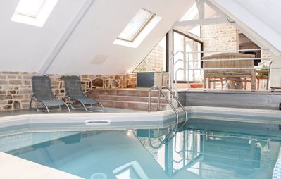Photo for Rental house Finistère south private indoor pool 7 pers max