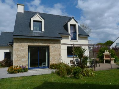 Photo for Holiday home in southern Brittany sleeps 2-8, 300 m from the beaches