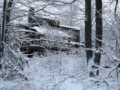 Photo for Private Mountain House on five acres in Cool Phoenicia, NY