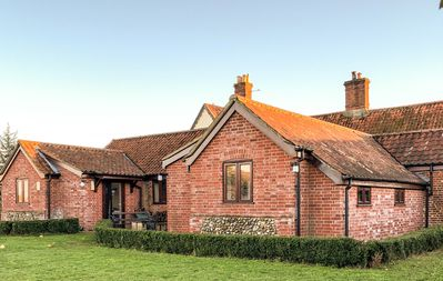 Photo for Holiday on an idyllic Norfolk Vineyard and get away from it all