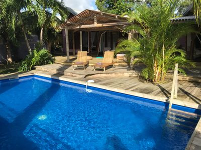 Photo for Balinese villa 3 minutes from the beach and in the heart of a tropical garden