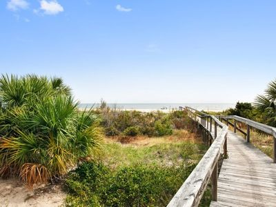 Photo for Fort Screven Villas - Unit 102 - Ocean Front - Easy Beach Access - FREE Wi-Fi