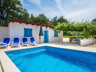 Photo for One-Bedroom holiday house Lana with Private Pool