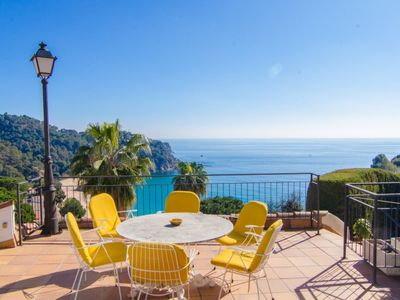 Photo for Club Villamar - Typical Spanish villa with private swimming pool, breath taking sea views and loc...