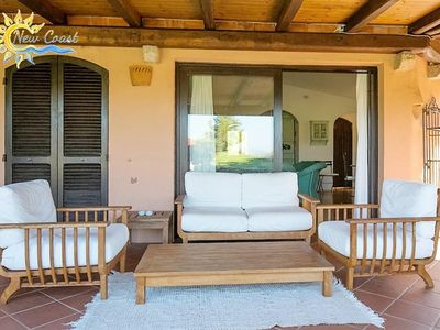 Photo for A / C VILLA WITH POOL IN THE HEART OF PORTO CERVO