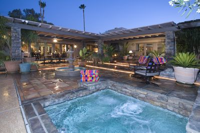 Main Pool Patio - The main pool patio is an entertainer's dream!