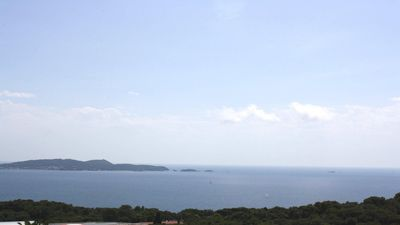 Photo for Hyeres vacation rentals Duplex apartment with beautiful sea view