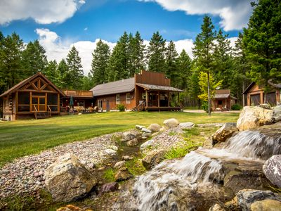 Photo for Ideal Western Style Montana home on 10 acres in Whitefish! Sleeps 8!