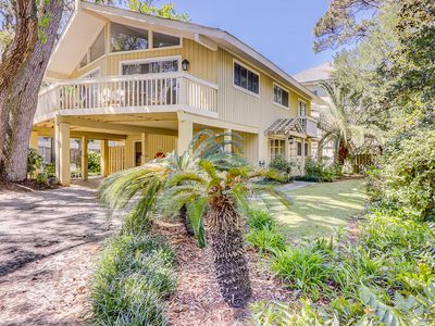 Photo for NEW LISTING! North Forest Beach home w/large deck, three houses from the beach!