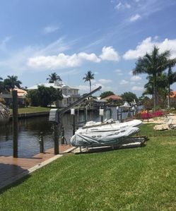 Photo for Beautiful 3BR on Canal 2 Min. From Gulf Access, Large Dock, Pool, Hot Tub Etc.
