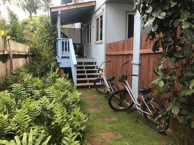 Photo for New Listing! Quiet living steps from the beach