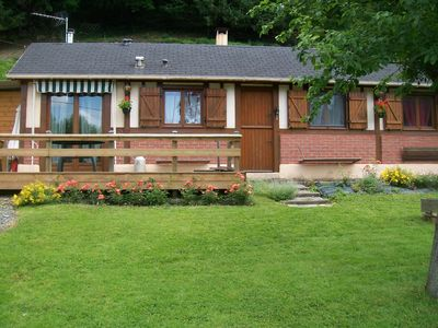 Photo for Quiet chalet in Normandy