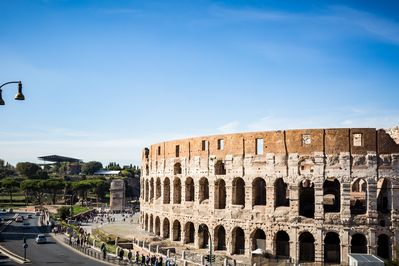Views, views and more views of the Coliseum from the Imperial Vista apartment.