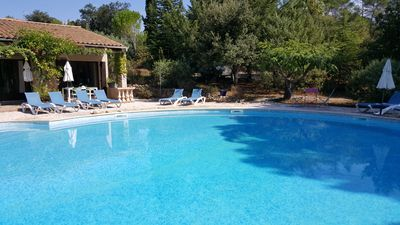 Photo for NICE HOLIDAYHOUSES FRENCH RIVIERA with HEATED POOL